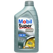 5x Mobil Super 3000 Formula R 5W-30 Synthetic 1L Car Engine Oil Lubricant 150886