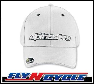 New Mens Alpinestars White Blessed Hat Large / XL