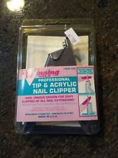 NEW Winning Nails Professional Tip & Acrylic Nail Clipper Square & Oval Cut