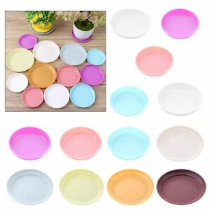 Thickened Durable Drip Trays Indoor Outdoor Plastic Tray Saucers Plant Saucer