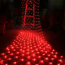 UK LED String Fairy Lights Net Mesh Curtain Xmas Wedding Party Outdoor Indoor