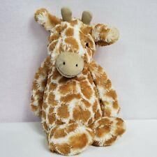 """Jellycat Bashful Giraffe Plush Soft Stuffed Animal 12"""" Toy"""