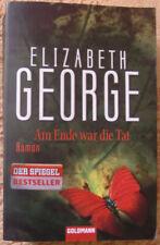Am Ende war die Tat von Elizabeth George Thriller