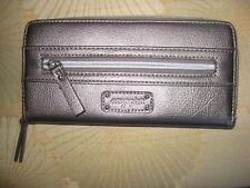 Easy Spirit Zip Around Wallet NWOT Metallic Gray Long Wallet