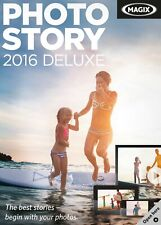 MAGIX PHOTO STORY 2016 DELUXE FOR 2 PC DEVICES LIFETIME LICENS 64 BIT SYSTEMS.