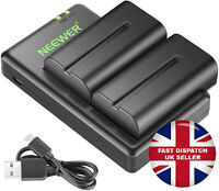 Neewer NP F550 Battery Charger Set for Sony NP F970,F750,F770,F960,F550,F530 UK