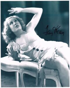 FAY WRAY hand-signed KING KONG 8x10 authentic w/ coa SEXY CLOSEUP IN TORN DRESS
