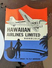 Etiquette Bagage Hawaiian Airlines Luggage Labels Airlines Labels Advertising
