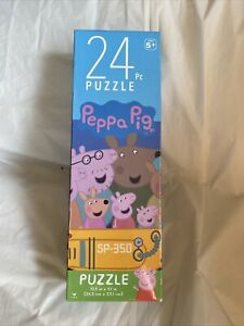 Brand New Peppa Pig 24 Pc Puzzle