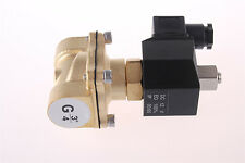 """Solenoid Valve Water Air N/O 220V AC 3/4"""" BSP Normally Open 2 Way 2W200-20"""