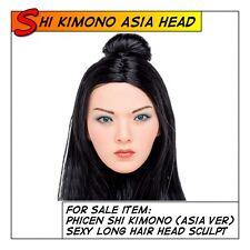 PHICEN Shi Kimono Head Sculpt Asia version fit 1/6 12 in scale Female Figure