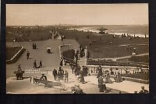 Whitley Bay - The Links - real photographic postcard