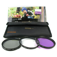 FILTER KIT FOR Nikkor AF-S DX 18-55mm VR Lens HD ( UV, CPL, FLD) 3 Piece 52mm