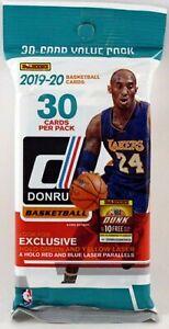 2019/20 Panini Donruss NBA Basketball card Jumbo Fat Pack (LOADED WITH ROOKIES)