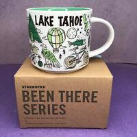 Starbucks Lake Tahoe Mug Been There Series Across The Globe Coffee Cup 14 oz
