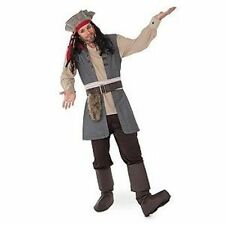 Captain Jack Sparrow Costume for Adults Disney pirate size large L Deluxe