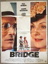 Affiche Mr. & Mrs. BRIDGE James Ivory JOANNE WOODWARD Paul Newman 120x160cm *