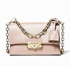 Michael Kors Shoulder Bag Cece Xs Chain Crossbody S. S. Pink New 32s9l0ec0l