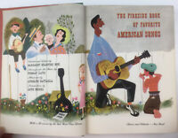 The Fireside Book of Favorite American Songs, Battaglia, 1952, Vintage Book