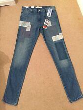 Women's Wrangler Ashboro Boyfriend Mid Waist Stretch Jeans W29 L34 BNWT (834)
