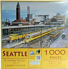 """Sunsout 1000 piece Puzzle. """"Seattle"""" NIB"""