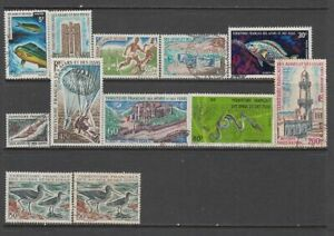 French Territory of Afars & Issas - 12no. different stamps 1967-1977 (CV $185)