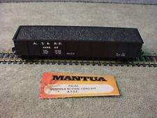 Mantua 731-01 HO Scale ATSF 139827 40' Open Gondola Car With Coal Load
