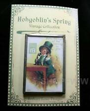 Bethany Lowe Vintage Style St Patrick's Day Pin Leprechaun On Telephone