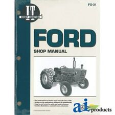 2000 3000 4000 3CYL FORD TRACTOR SHOP MANUEL
