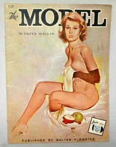 The Model Fritz Willis Painting Book