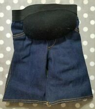 VERMONT TEDDY BEAR COMPANY BARE-FOOT & PREGNANT MATERNITY PANTS JEANS ONLY