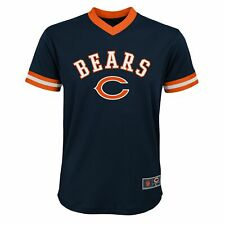 Outerstuff NFL Youth Boys (8-20) Chicago Bears Printed V-Neck Mesh Top