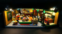 LED Lighting Kit for LEGO ® Ideas FRIENDS Central Perk set 21319