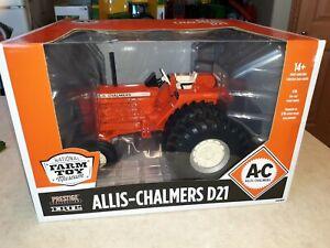 1/16 Allis Chalmers D-21 Tractor W/Duals Prestige 2020 National Farm Toy Museum
