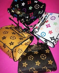 Lady Fashion Handbags Shoulder Bag PU Leather Small Crossbody Bag