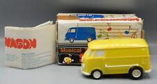 1960s vintage Tamco SOUNDWAGON musical toy VW BUS record player van original box