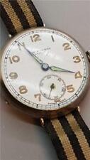 Vintage 1940 Silver Gents Wristwatch in Working Order by J.W.Benson