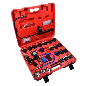 28PC Cooling System Radiator Pressure Tester Test Detector Set Universal Kit