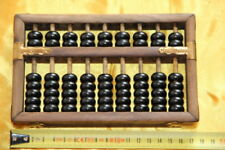 Boulier Chinois 9 tiges-Suanpan-Chinese Abacus-Abakus-Abaco-imitation ancien