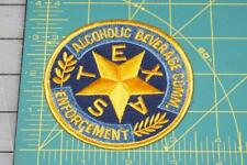 Alcoholic Beverage Comm. Enforcement Texas Patch (999)