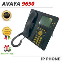 Avaya 9650 Display Business VoIP Phone Charcoal 700383938