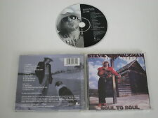 STEVIE RAY VAUGHAN AND DOUBLE TROUBLE/SOUL TO SOUL(EPIC 494131 2) CD ALBUM