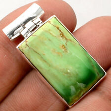 Australian Variscite 925 Sterling Silver Handmade Pendant Jewelry SDP61835