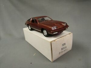 1978 Chevy Monza 2+2 Dark Carmel  Original box, Never displayed