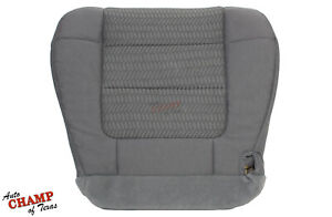 2003 Ford F150 4X4 SPORT 2WD Single-Cab-Driver Side Bottom Cloth Seat Cover Gray