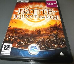 Lord of the Rings Battle for Middle Earth 1 PC game in VGC
