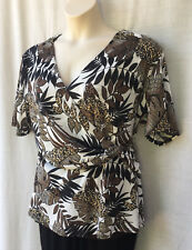 Susan Blake Size 20-22 Top Short Slv Work Casual Evening Occasion Party Travel