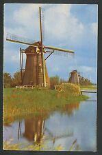 Elshout bij Kinderdijk  Ronde stenen watermolen