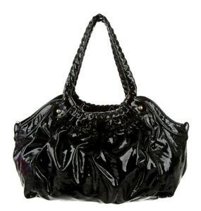 NEW Christian Louboutin TELESCOPE LARGE Patent Leather Bag Handbag Shoulder