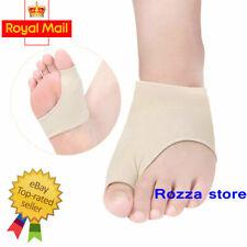2 x Fabric Gel Toe Bunion Pad Protector Hallux Valgus Anti Friction Corrector